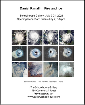 Exhibition at Schoolhouse Gallery, Provincetown, MA
